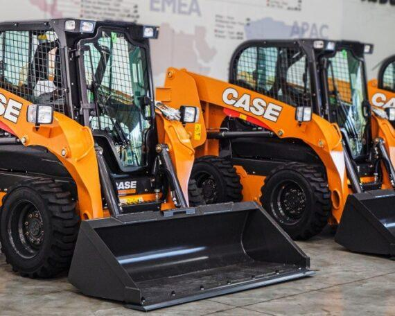 Production of New Holland mini-loaders started in Russia